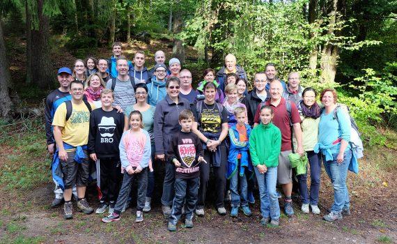 Gruppenfoto Pfälzerwald