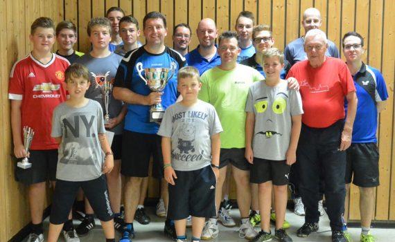 Gruppenbild Vereinsmeisterschaften 2016